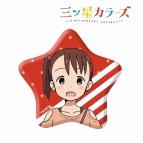 【グッズ-バッチ】三ツ星カラーズ 星形缶バッジ(結衣)