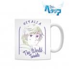 【グッズ-マグカップ】ヘタリア The World Twinkle Ani-Artマグカップ(ロシア)