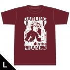 【グッズ-Tシャツ】ダーリン・イン・ザ・フランキス Tシャツ[ゼロツー] Lサイズ