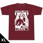 【グッズ-Tシャツ】ダーリン・イン・ザ・フランキス Tシャツ[ゼロツー] XLサイズ
