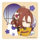 【グッズ-コースター】ニル・アドミラリの天秤 ラバーマットコースター 汀紫鶴