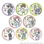 【グッズ-バッチ】コードギアス 反逆のルルーシュⅢ 皇道 缶バッジ 04/浴衣ver. (グラフアートデザイン)
