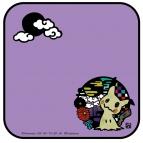 【グッズ-タオル】ポケットモンスター切り絵シリーズ ガーゼミニタオル ミミッキュA