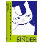 【グッズ-バインダー】夏目友人帳 ニャンコ先生のルーズリーフバインダー おすわり