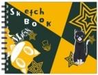 【グッズ-スケッチブック】ペルソナ5  図案スケッチブック モルガナ
