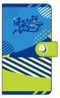 【グッズ-カバーホルダー】はるかなレシーブ 手帳型スマートフォンケース 紅愛・恵美理 シルエット