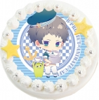 【9月14日発送分・CS14】「B-PROJECT」キャラクターケーキ第1弾 マリンver.(殿 弥勒)